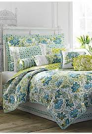 blue and green bedding. Contemporary And Dena Home Bedding Available At Belk Blue And Green Ikat Floral Comes  Together To Create The Vibrant Lively Seraphina Quilt Throughout And Green Bedding