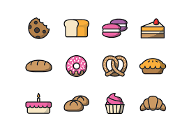 35 Best Bakery Coffee Shop Icons Decolorenet