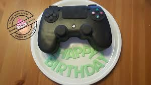 Ps4 Torte I Playstation Ps Controller Cake I Controller Kuchen I