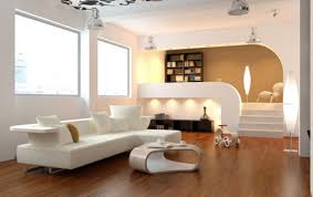 Interior Decoration Living Room design behind the living room sofa