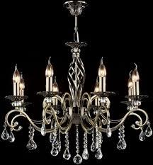 Casa Padrino Barock Kristall Decken Kronleuchter Bronze 72 X H 59 Cm Antik Stil Möbel Lüster Leuchter Hängeleuchte Hängelampe