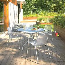 room and board outdoor furniture round table with chairs by modern patio