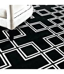 black and white geometric rug wool runner rugs pattern grey black and white geometric rug