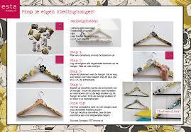 Creatief Met Papierkledinghangers Vonks Behang Webwinkel Behang