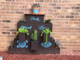 cinder block planters unique diy ideas