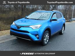 2016 Used Toyota RAV4 AWD 4dr Limited at Honda of Fayetteville ...
