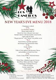 New Year Menu Los Bandidos Embraces 2019 With A Very Special New Years