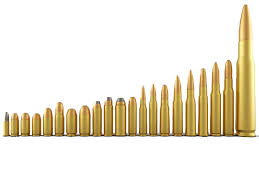 Pistol Bullet Size Chart 80 Competent Rifle Calibers Chart Smallest To Largest