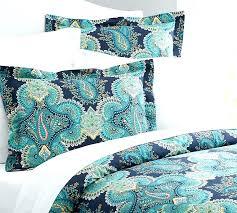 key west paisley duvet cover elephant grey king blue peacock flowers queen king silk bedding