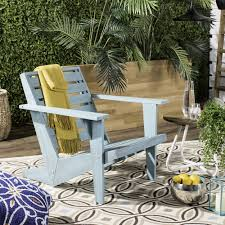 oriental outdoor furniture. Safavieh Lanty Oriental Blue Adirondack Chair - Free Shipping Today Overstock 22311492 Outdoor Furniture A