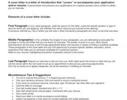 Collection Of Solutions Resume Writing A Cover Letter Samples How To ...