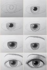 How To Draw Eyes Step By Step Drawing Eyes Tutorial Realistic How To Draw An Eye