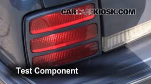 blown fuse check buick century buick century 6 replace cover secure the cover and test component