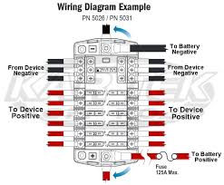 blue sea systems 12 circuit ato blade fuse block with negative bus Blue Sea Systems 7601 Wiring Diagrams at Blue Sea Systems Wiring Diagrams