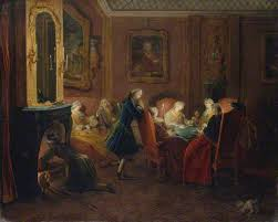 paris gamblers gaming in th century the getty iris interior card players pierre louis dumesnil about 1752 the metropolitan museum