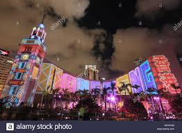 Ac 3d Light Show Atlantic City 3d Light Show Stock Photos 3d Light Show Stock Images Alamy