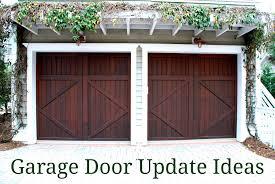 revitalizing your garage door