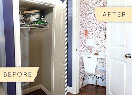 home office closet. Home Office Storage Organization Solutions Tiny Closet Space Turn A Into Charming