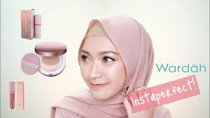 wardah instaperfect one brand makeup tutorial saritiw