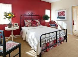 Bedroom Ideas With Red Walls