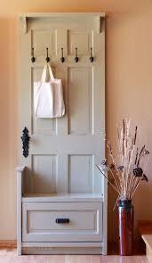 door to coat rack conversion project