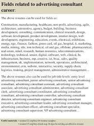 Advertising Consultant Sample Resume Top 100 advertising consultant resume samples 2