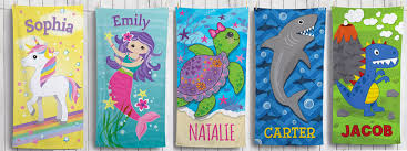 Personalized Kids Beach Towels 1499 Orig 35 Choose from 10