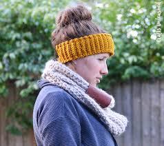 Ear Warmer Crochet Pattern Custom Crochet Ear Warmer Pattern Step By Step Consumer Crafts