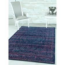 home midnight blue area rug wool