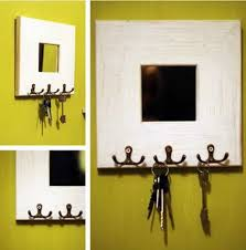 mirror key holder