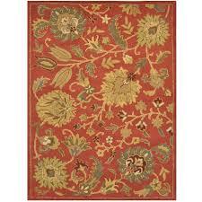 William Morris Rug Designs Handmade William Morris Wool Rug India 5 X 7