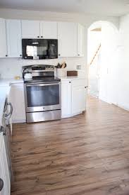 Pergo Flooring In Kitchen Kitchen Progress Pergo Flooring Before And After Lauren Mcbride