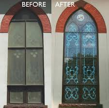not only can chapman stained glass create or re your stained glass windows we can supply the correct protective covering solution for your building