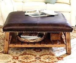 tufted leather coffee table round leather coffee table ottoman popular of round leather coffee table best