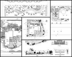 Garden Landscape Design Drawings Villa Landscape Design Rooftop Garden Community Garden Cad Drawings Bundle V 5 All Kinds Of Landscape Design Cad Drawings