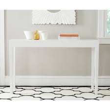 safavieh kayson white lacquer console table ping great deals on safavieh coffee