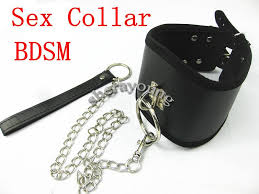 Women collar leash adult
