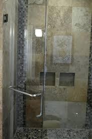 frameless shower door stops shower