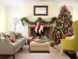 Living Room Christmas Decoration 100 Country Christmas Decorations Holiday Decorating Ideas