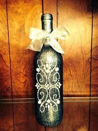 Ideas To Decorate Wine Bottles Marvelous Decorate Wine Bottles Ribbon Wrapping Decorated Wine 97