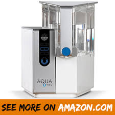 aquatru countertop water filter purification system with exclusive 4 stage ultra reverse osmosis technology