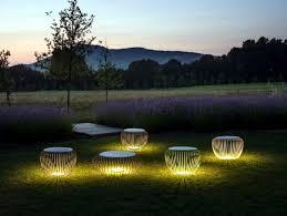 lighting in garden. Enjoy The Garden With Decorative Lights At Night Lighting In