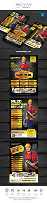 handyman flyer by monggokerso graphicriver handyman flyer flyers print templates