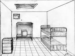 One Point Perspective Bedroom Easy One Point Perspective Bedroom Room P