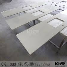 stain resistant solid surface custom made kitchen countertop quartz stone countertops