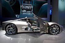 jaguar c x75 concept side view