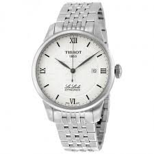replica tissot watches buy brands designer watches tissot t classic le locle silver dial stainless steel men s watch t41183350