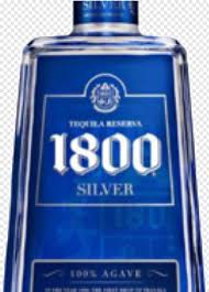 1800 silver tequila 750ml hd png