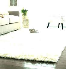 white bedroom rug fuzzy rugs area soft fur living room soft white rug