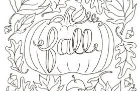 Small Picture adult coloring pages fall Just Colorings